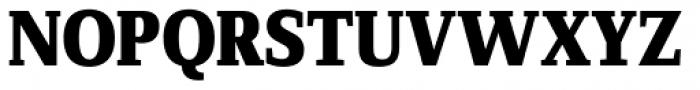 FF Zine Serif Display OT ExtraBold Font UPPERCASE