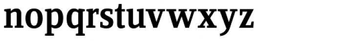 FF Zine Serif Display OT Medium Font LOWERCASE