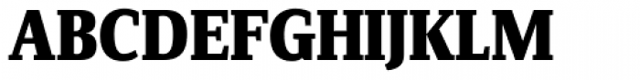 FF Zine Serif Display Pro ExtraBold Font UPPERCASE