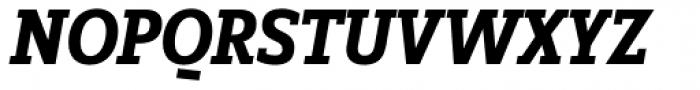 FF Zine Slab Display OT Bold Italic Font UPPERCASE