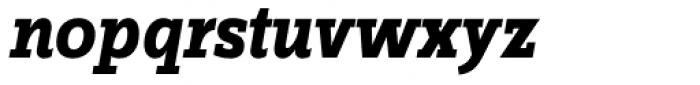 FF Zine Slab Display OT Bold Italic Font LOWERCASE