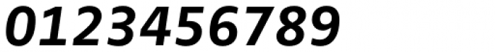 FF Zwo OT Bold Italic Font OTHER CHARS