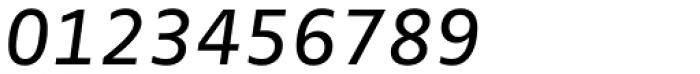 FF Zwo OT Italic Font OTHER CHARS