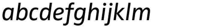 FF Zwo OT Italic Font LOWERCASE