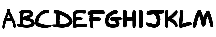 FG-roundtip Font UPPERCASE