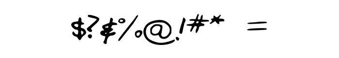FGfontfull Font OTHER CHARS