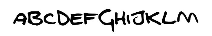 FGfontfull Font UPPERCASE