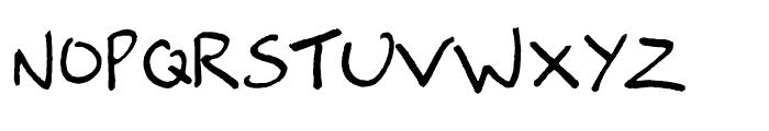 FG Alex Regular Font UPPERCASE