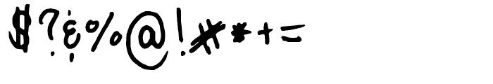 FG Carola Regular Font OTHER CHARS