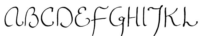 FG Emmy Regular Font UPPERCASE