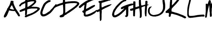 FG Nadja Regular Font UPPERCASE