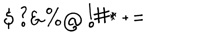 FG Noel Regular Font OTHER CHARS