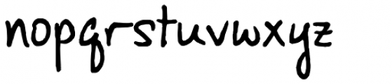 FG Abby Font LOWERCASE