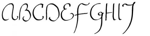 FG Emmy Font UPPERCASE