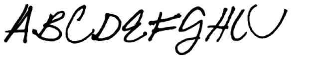 FG Jordan Font UPPERCASE