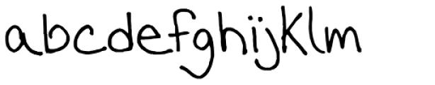 FG Lana Font LOWERCASE