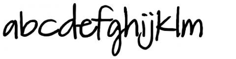 FG Matilda Font LOWERCASE