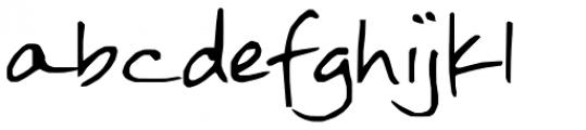 FG Rebecca Font LOWERCASE