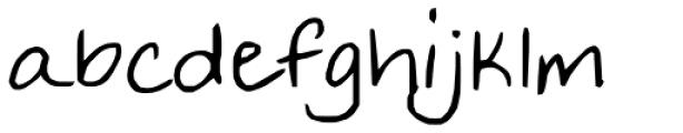 FG Tonya Font LOWERCASE