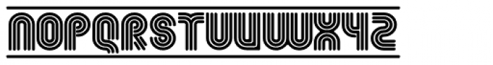 Fgroove Seventy Eight Font UPPERCASE
