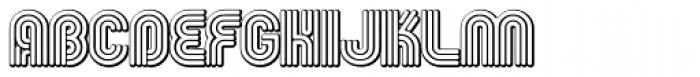 Fgroove Seventy Nine Font UPPERCASE