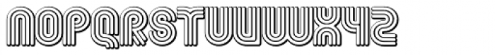 Fgroove Seventy Nine Font LOWERCASE