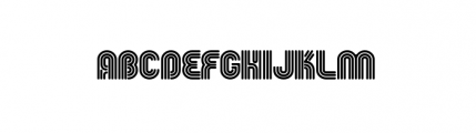 FGroove 76 Font LOWERCASE