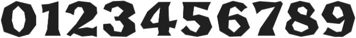 FHA Broken Gothic BustedB Regular otf (400) Font OTHER CHARS