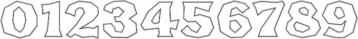FHA Broken Gothic BustedBB Regular otf (400) Font OTHER CHARS