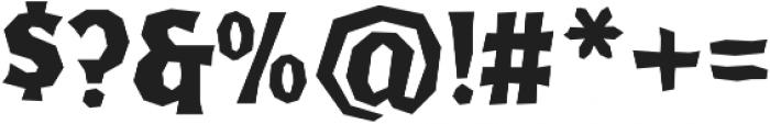 FHA Broken Gothic Kondenst Regular otf (400) Font OTHER CHARS