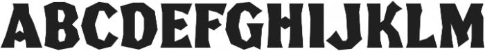 FHA Broken Gothic Kondenst Regular otf (400) Font UPPERCASE