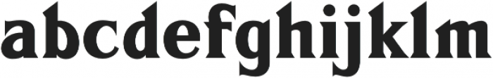 FHA Sign DeVinne  otf (400) Font LOWERCASE