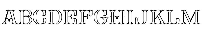 FHA Mod Tuscan Roman Open  NCV Font LOWERCASE