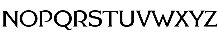 FHA Modernized Ideal ClassicNC Font UPPERCASE