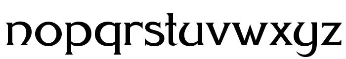FHA Modernized Ideal ClassicNC Font LOWERCASE