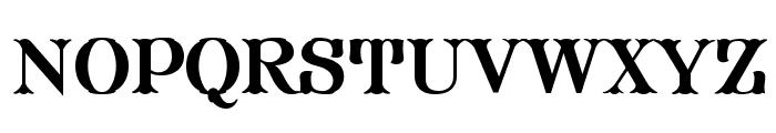 FHA Modified Tuscan Roman NCV Font LOWERCASE