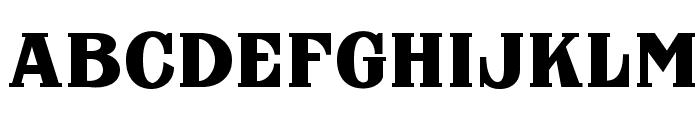 FHA Nicholson French NCV Normal Font UPPERCASE