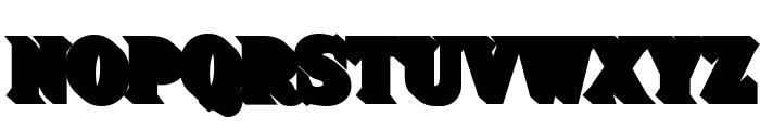 FHA Sign DeVinne Shade25NC Font LOWERCASE