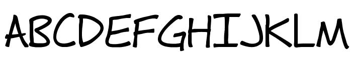Fh_Hyperbole-Bold Font UPPERCASE