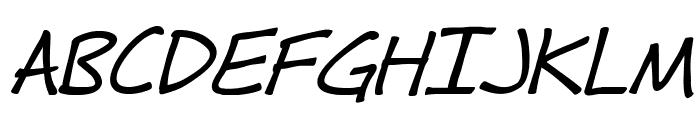 Fh_Hyperbole-BoldItalic Font UPPERCASE