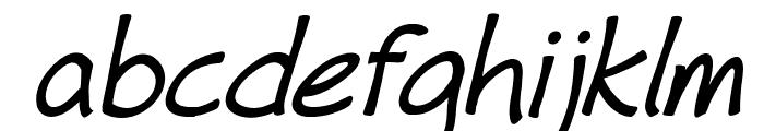 Fh_Hyperbole-BoldItalic Font LOWERCASE