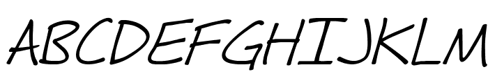 Fh_Hyperbole-Italic Font UPPERCASE