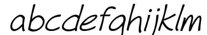 Fh_Hyperbole-Italic Font LOWERCASE