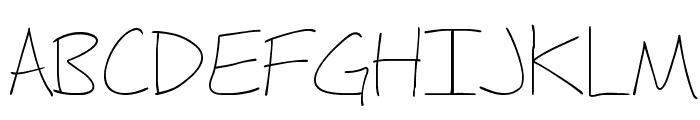 Fh_Hyperbole-Light Font UPPERCASE