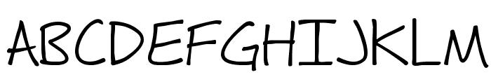 Fh_Hyperbole Font UPPERCASE