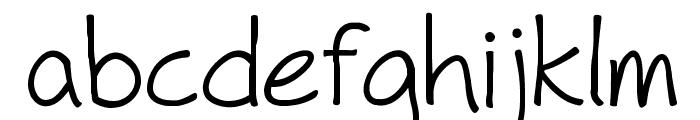 Fh_Hyperbole Font LOWERCASE