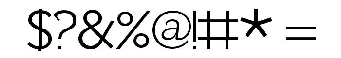 Fh_Lentil Font OTHER CHARS
