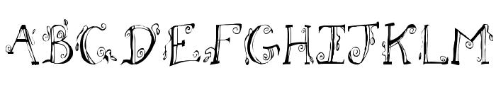 Fh_Letter Font UPPERCASE
