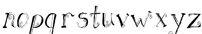 Fh_Letter Font LOWERCASE