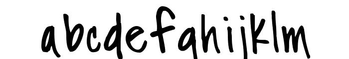 Fh_Nicole Font LOWERCASE